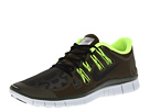 Nike - Free 5.0+ Shield (Dark Loden/Volt/Pure Platinum/Black)