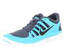 Nike - Free 5.0+ (Dark Armory Blue/Gamma Blue/Summit White/Black)
