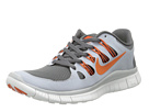 Nike - Free 5.0+ (Dark Grey/Wolf Grey/Summit White/Urban Orange)