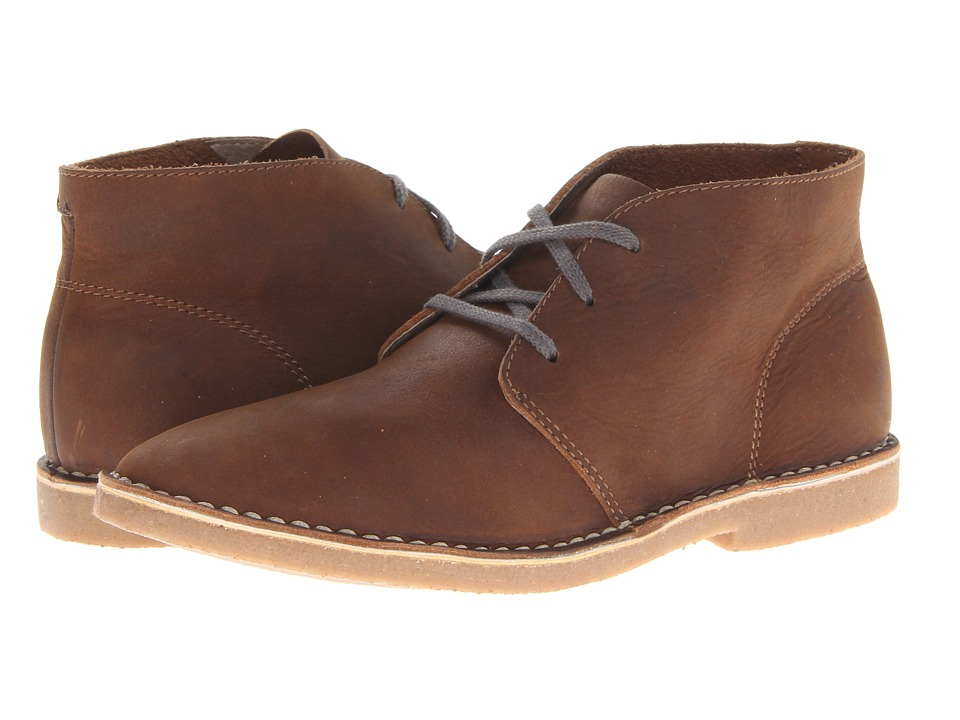 SeaVees - 12/67 3 Eye Chukka (Cigar Pull Up Leather) Men