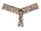 Hanky Panky Leopard Nouveau Low Rise Crotchless Thong