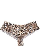 Hanky Panky - Leopard Nouveau Crotchless Cheeky Hipster