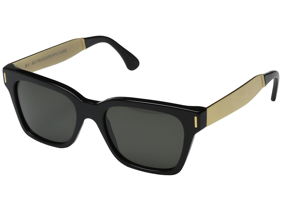 Super America Francis / Black / Gold Fashion Sunglasses