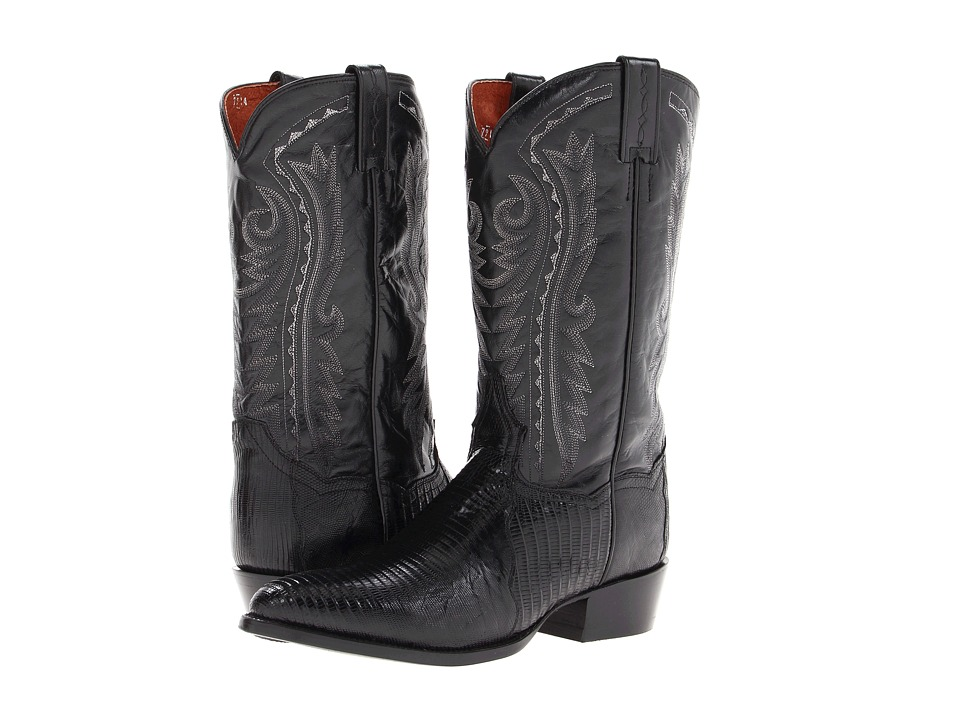 Dan Post - Raleigh (Black) Cowboy Boots