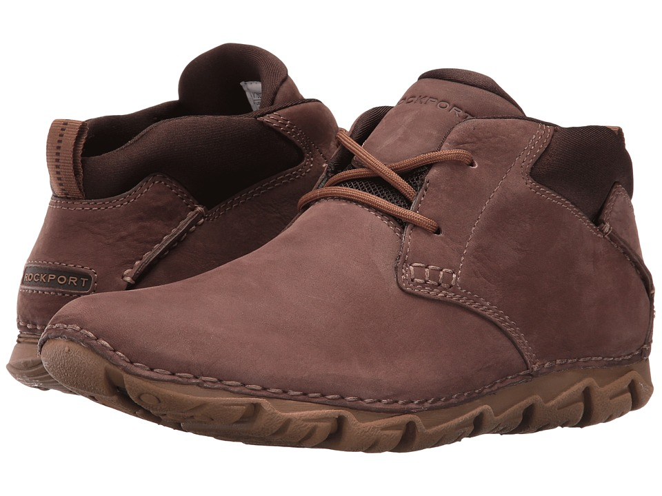 Rockport RocSports Lite 2 Chukka (Dark Brown Nubuck) Men