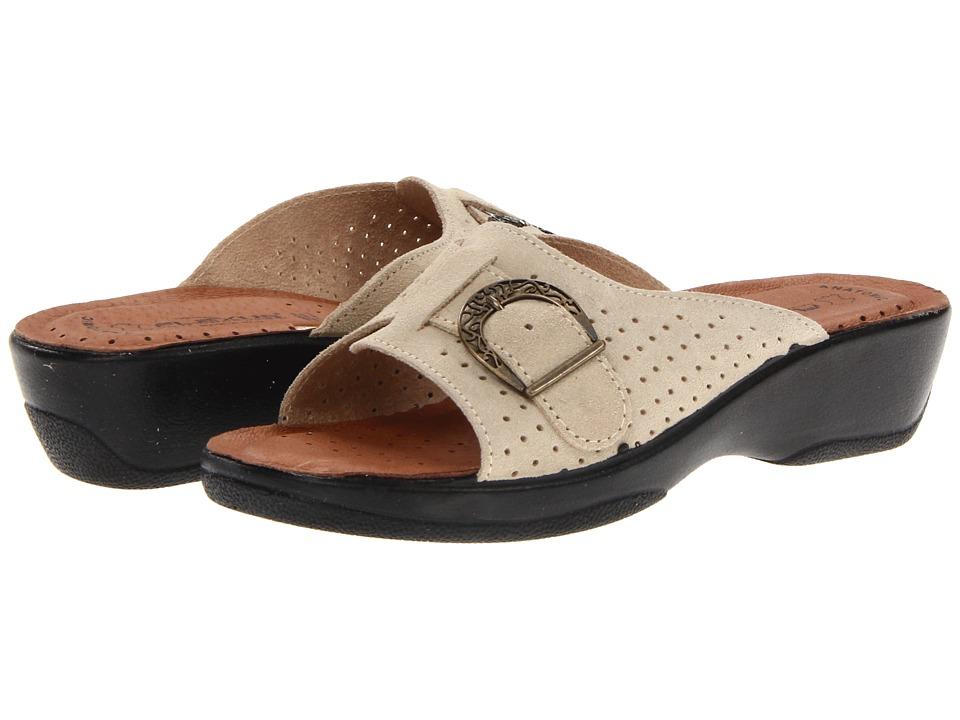 Flexus Edella Beige Womens Sandals