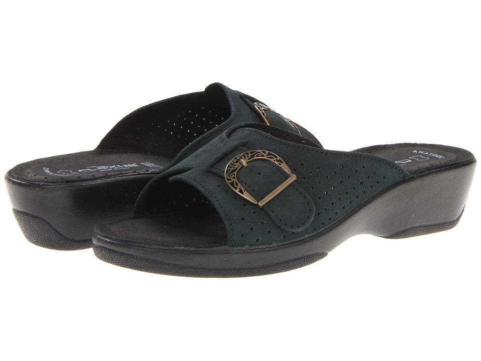 Flexus Edella Black Womens Sandals
