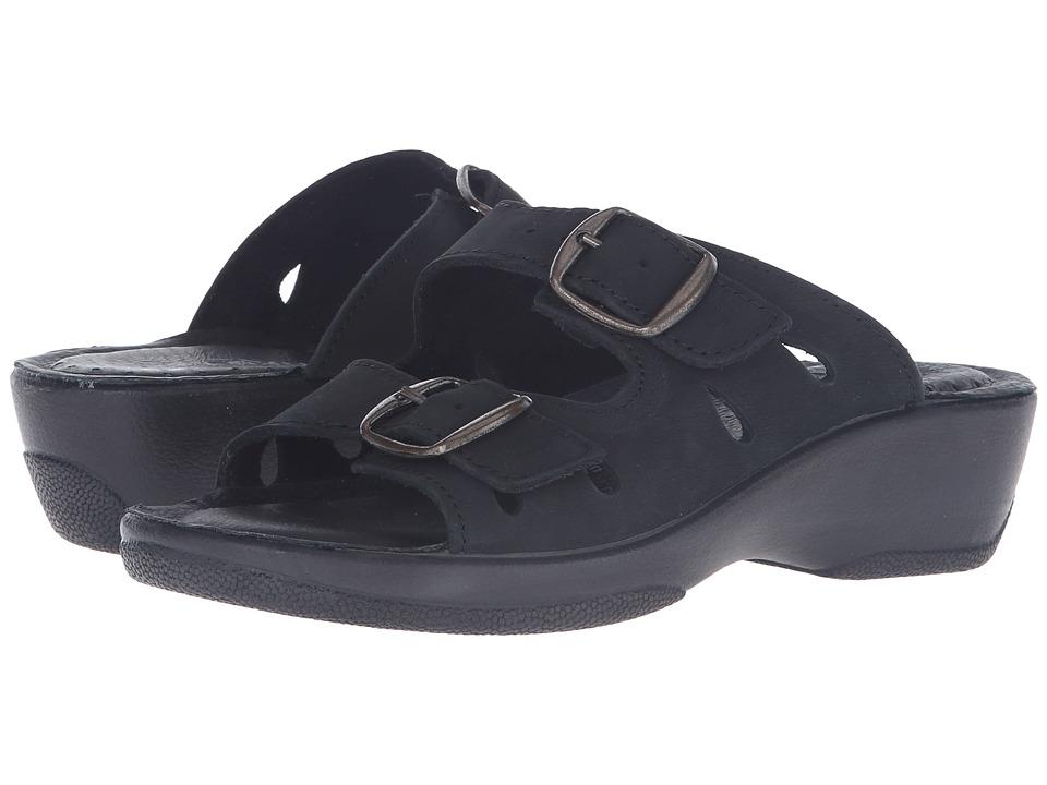 Spring Step Decca (Black 2) Sandals