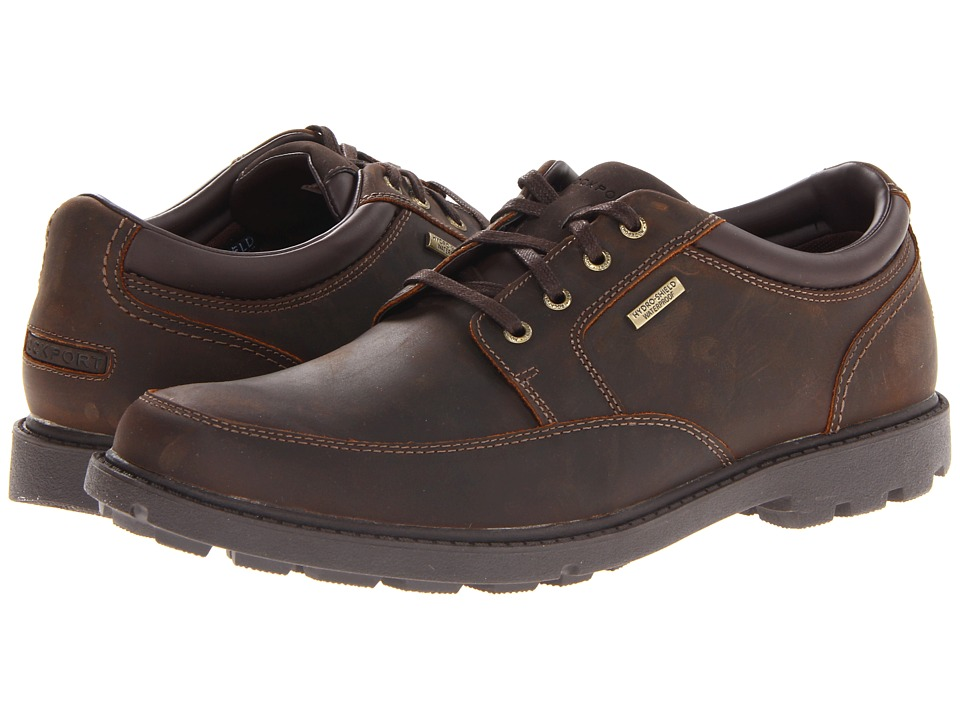 Rockport - Rugged Bucks Waterproof Mudguard (Tan) Mens Lace up casual Shoes