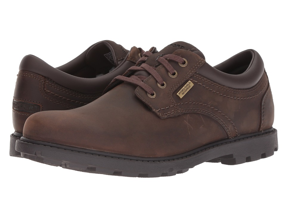 Rockport - Rugged Bucks Waterproof Plaintoe (Tan) Mens Shoes