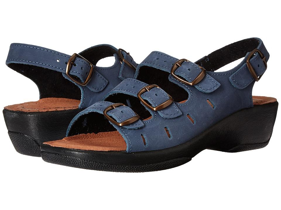 Flexus Willa Navy Womens Sandals