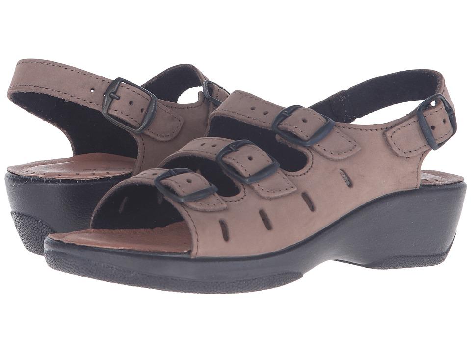 Flexus Willa Tan Nubuck Womens Sandals