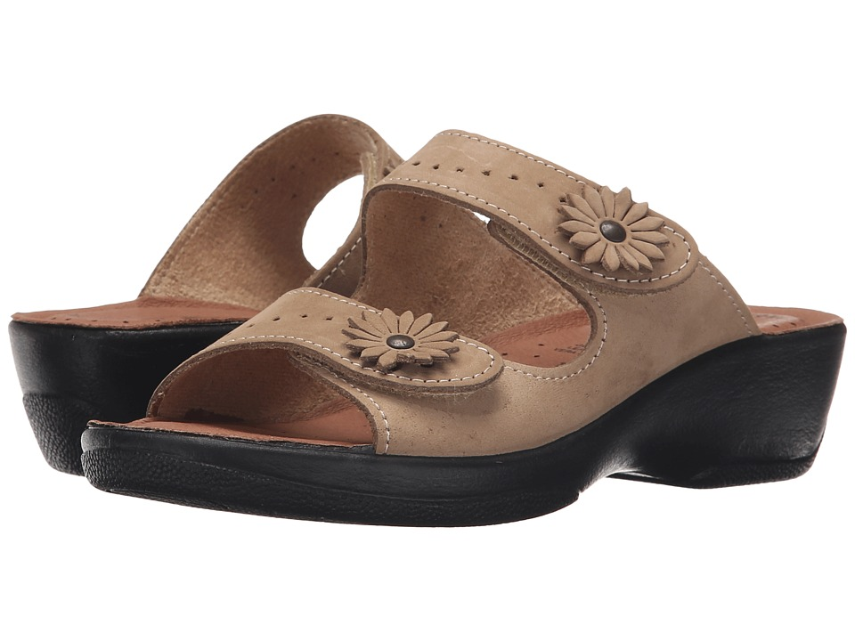 Spring Step - Faithful (Beige) Women's Sandals