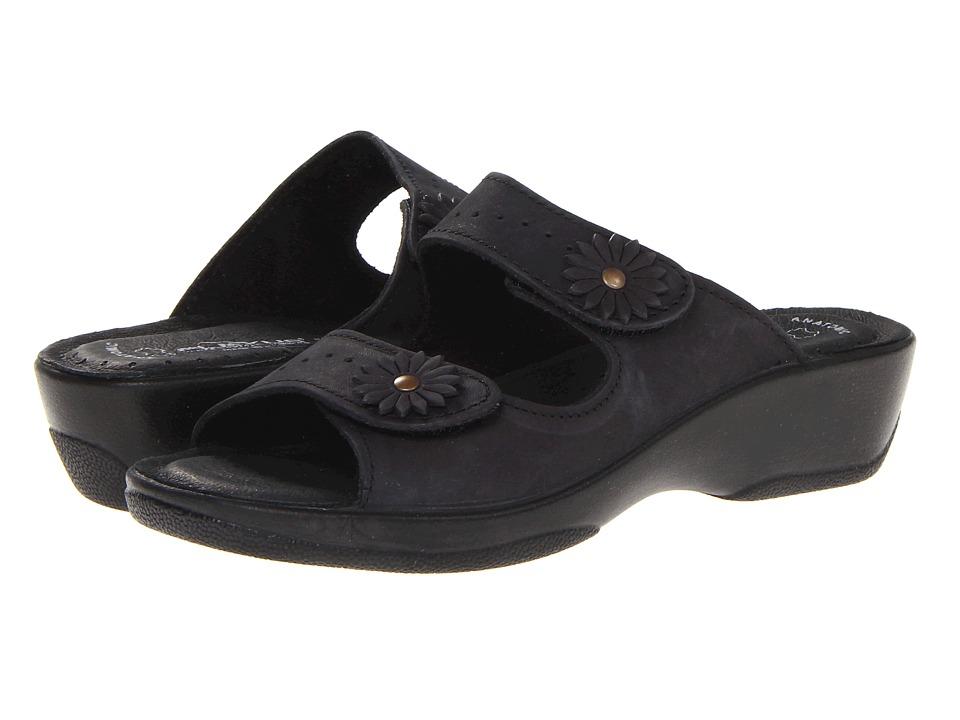 Flexus Faithful Black Womens Sandals