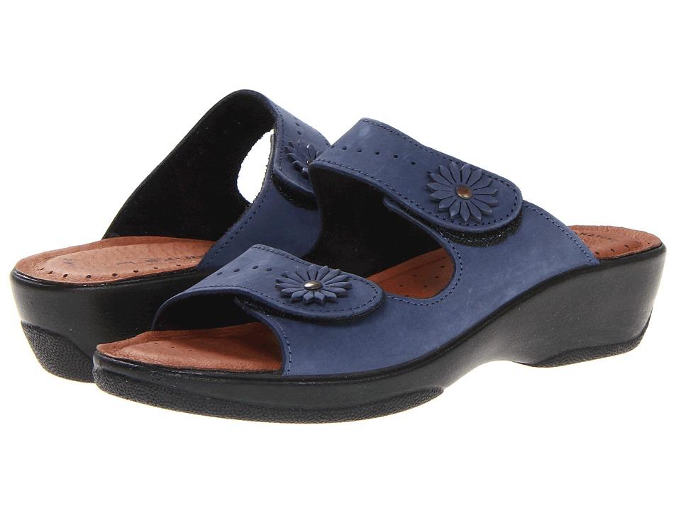 Flexus Faithful Navy Womens Sandals