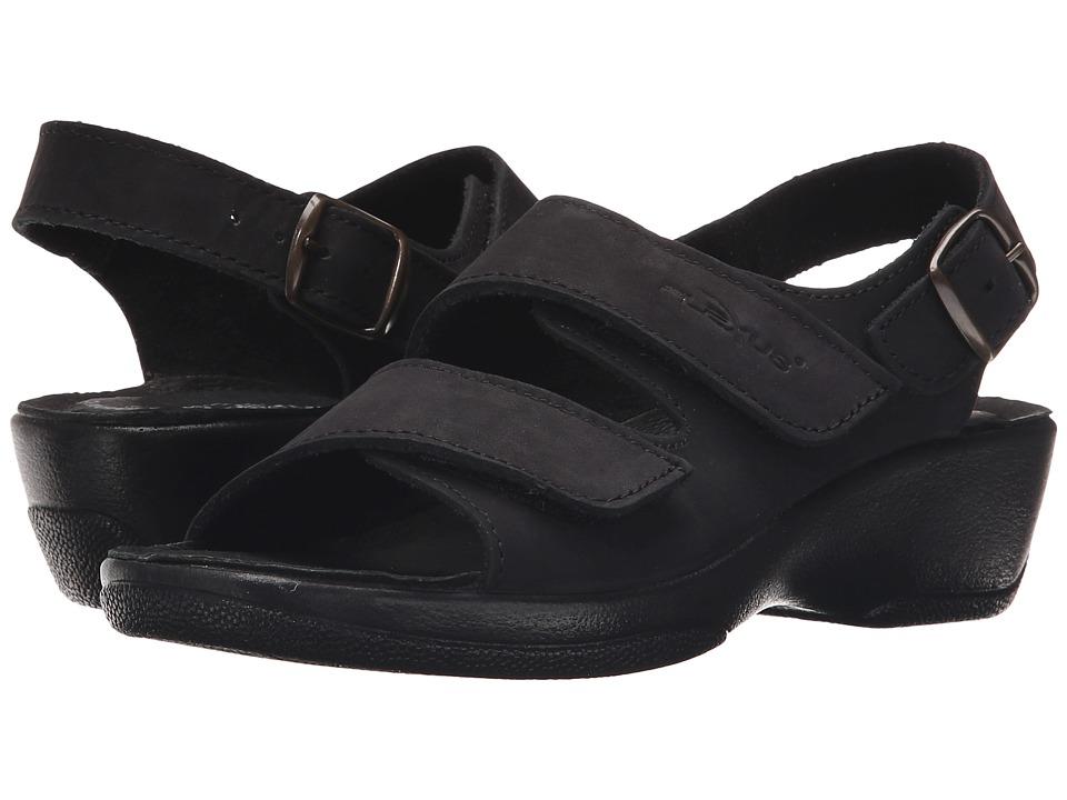 Flexus Gracious Black Womens Sandals