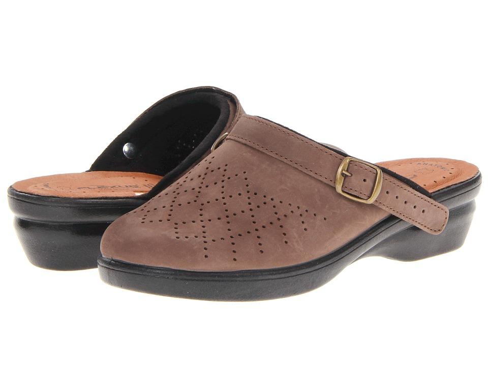 Flexus Pride Tan Womens Clog Shoes