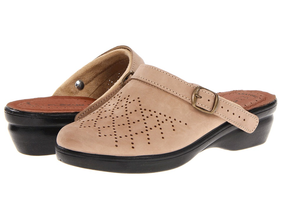 Flexus Pride Beige Womens Clog Shoes