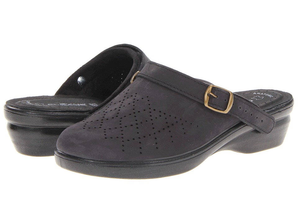 Flexus Pride Black Womens Clog Shoes