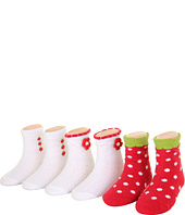 Robeez - 6pk Bootie Socks - Strawberry (Infant)