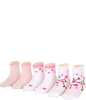 Robeez - 6pk Bootie Socks - Cherry Blossom (Infant)