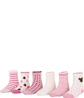Robeez - 6pk Bootie Socks - Bear (Infant)