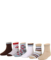 Robeez - 6-Pack Bootie Socks - Car (Infant)