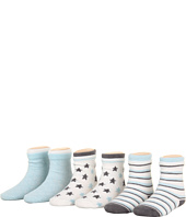 Robeez - 6pk Bootie Socks - Modern Star (Infant)