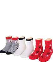 Robeez - 6pk Bootie Socks - Sailing Day (Infant)