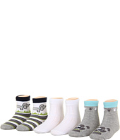 Robeez - 6pk Bootie Socks - Doggy Duo (Infant)