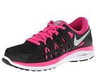 Nike Dual Fusion Run 2 (Black/Armory Slate/Pink Foil/Metallic Silver) Women's Running Shoes