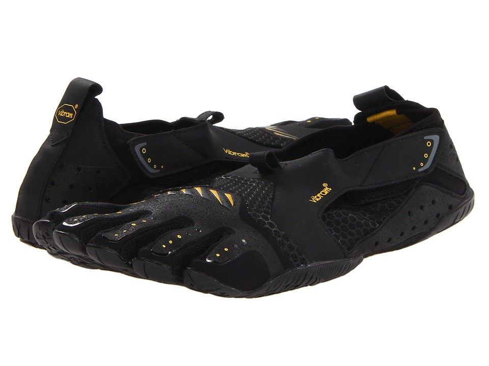 Vibram FiveFingers - Signa (Black/Yellow) Mens Shoes