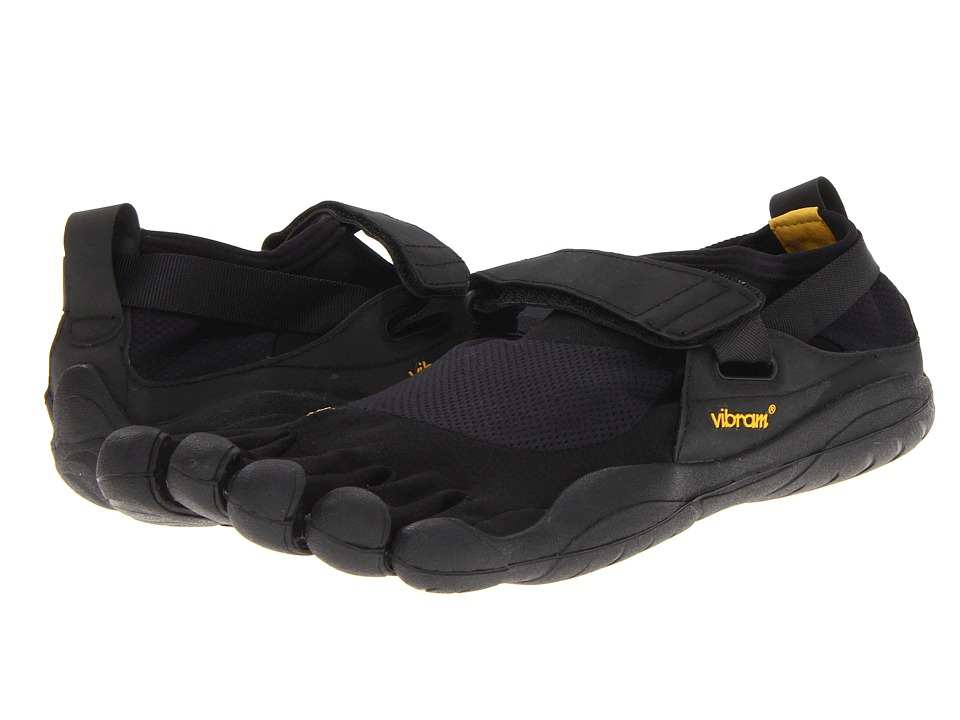 Vibram FiveFingers - KSO (Black/Black) Mens Running Shoes