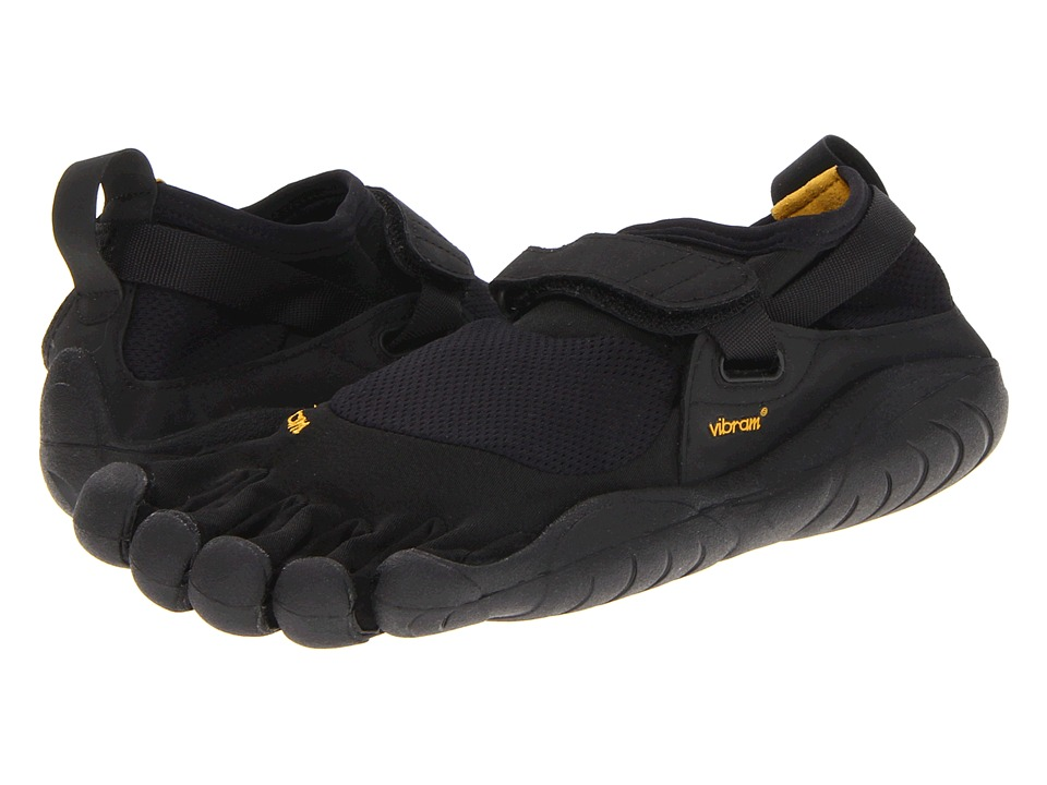 Vibram FiveFingers - KSO (Black/Black) Womens Running Shoes