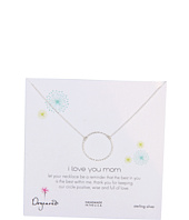 Dogeared Jewels - Mom I Love You Sparkle Karma Necklace