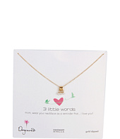 Dogeared Jewels - Mom 3 Little Words Necklace
