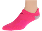 Nike - Elite Running Cushion No Show 1-Pair Pack (Pink Foil/Strata Grey/Raspberry Red/(Raspberry Red))