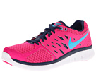 Nike - Flex 2013 Run (Pink Foil/Brave Blue/White/Gamma Blue)