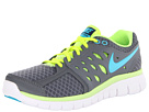 Nike - Flex 2013 Run (Cool Grey/Volt/Brave Blue/Gamma Blue)