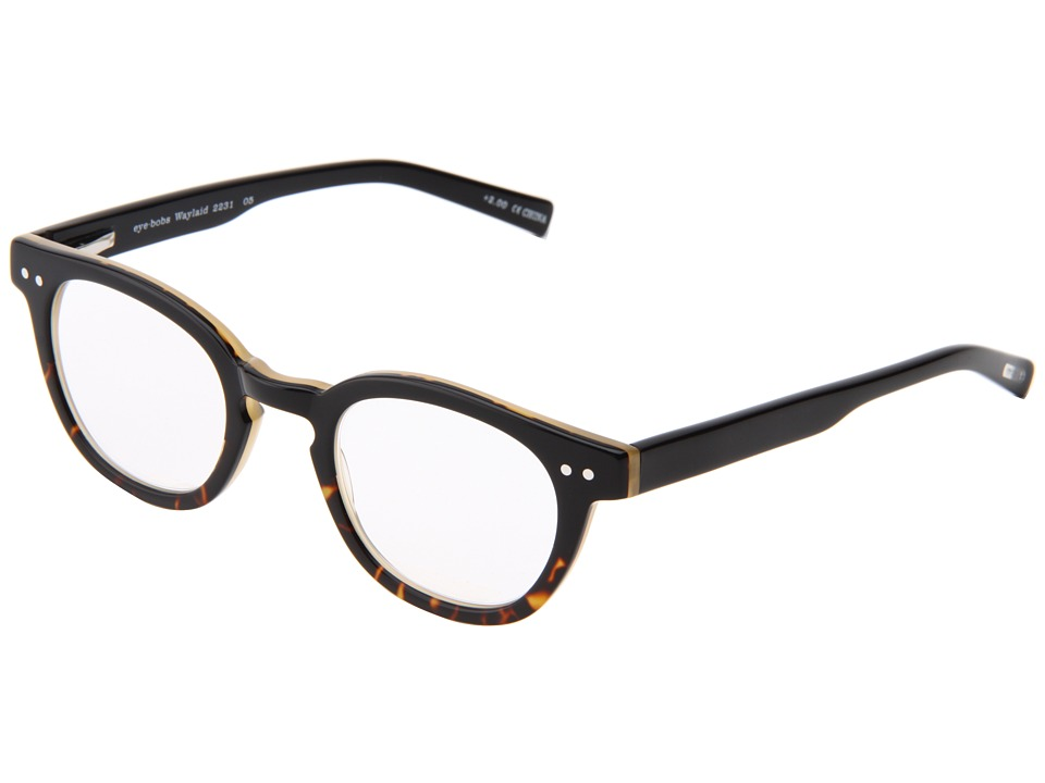 eyebobs - Waylaid Readers (Black Demi) Reading Glasses Sunglasses
