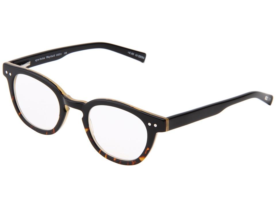 eyebobs - Waylaid Readers (Black Demi) Reading Glasses Sunglasses