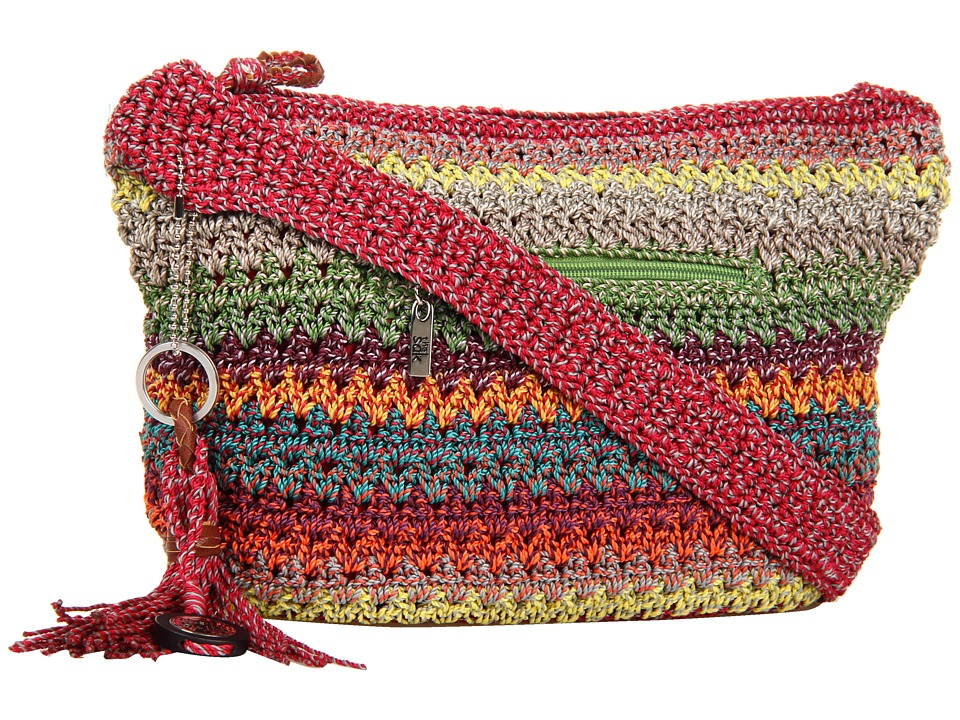 The Sak - Casual Classics Sm Hobo (Gypsy Stripe) Shoulder Handbags