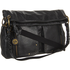 The Sak Pax Leather Large Crossbody Black