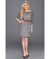 Max and Cleo - Jocelyn Zig Zag Dress w/ Belt