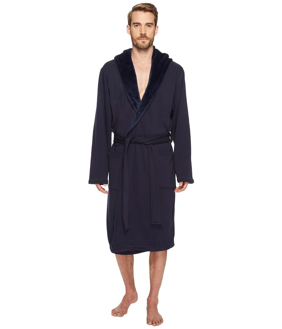 Ugg Brunswick Robe (Navy) Men's Robe