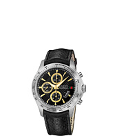 Gucci - G-Timeless 44mm Chronograph Leather Strap Watch-YA126237