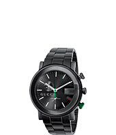 Gucci - G Chrono 44mm Black Stainless Steel Watch-YA101331