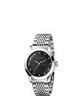 Gucci - G-Timeless 38mm Stainless Steel with Diamonds Watch-YA126405