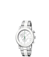 Gucci - G Chrono 44mm Chronograph Steel and Ceramic Watch-YA101345