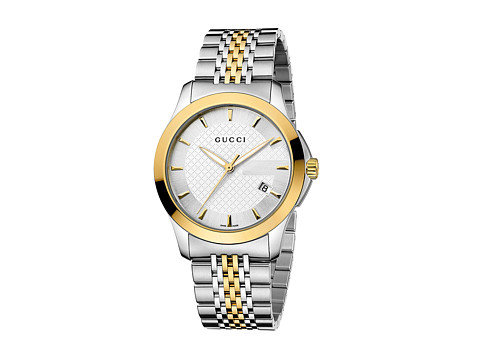 Gucci G-Timeless 38mm Two-Tone Stainless Steel Watch-YA126409
